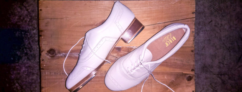 BLOCH TAP SHOES WHITE